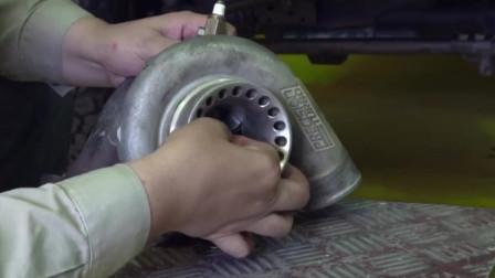 老司机拆解涡轮增压器,五分钟为你讲清楚它的工作原理
