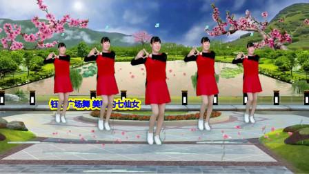 轻松学会水兵舞美丽的七仙女 追梦玉儿水兵舞教学分解