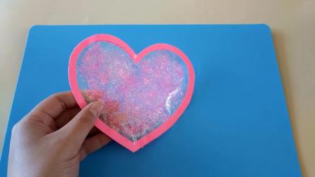 超漂亮的粉色少女果冻钱包,材料就是家里的胶带,创意手工DIY视频
