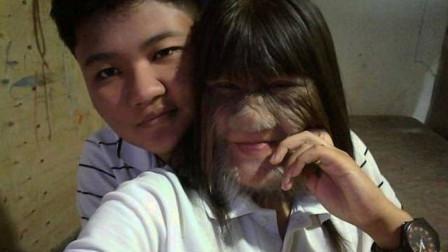 """泰国17岁""""狼人女孩""""宣布结婚,将面部清理干净后,简直大变样"""