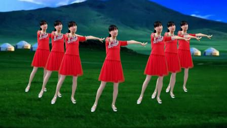 80年代经典老歌《甜蜜蜜》广场舞,歌甜舞美,好听又好看!