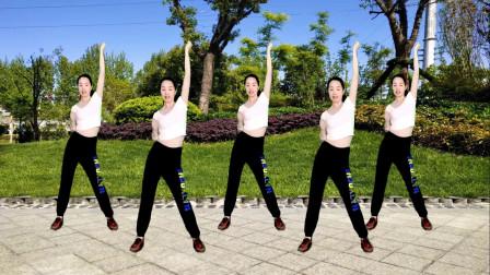 瘦身美体健身操泰山与珍DJ每天早晚坚持跳三遍燃烧脂肪轻松瘦身