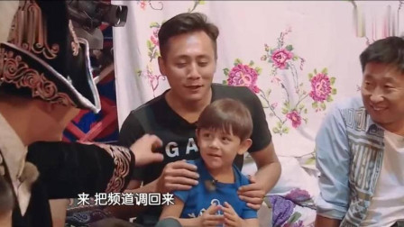 爸爸去哪儿:诺一的奇葩脑回路太搞笑了,刘烨提醒诺一不许飞哦!