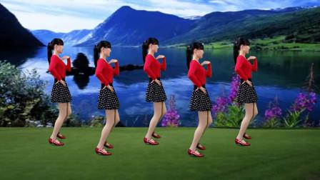 动感抒情32步广场舞《一生离不开的是你》经典老歌,好听更好看!