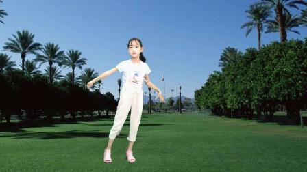 小女孩跳网红32步 超级可爱好看,还是有个女儿好