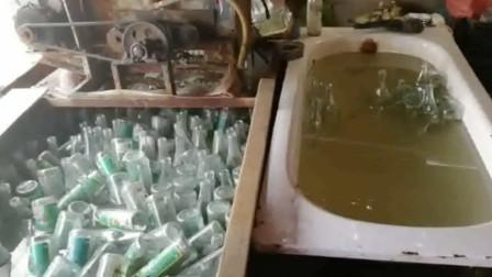 """北京通州警方重拳""""治污""""  洁厕灵洗酒瓶排超标污水被抓"""
