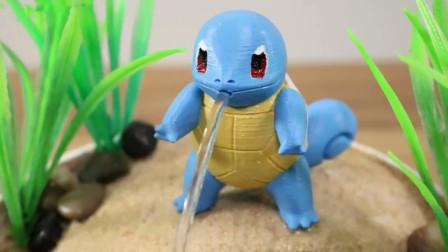 老外用3D打印机自制杰尼龟,喷出水的那刻,网友:效果有点惊艳