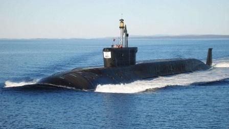 俄新型战略核潜艇亮相 一艘可消灭半个北美