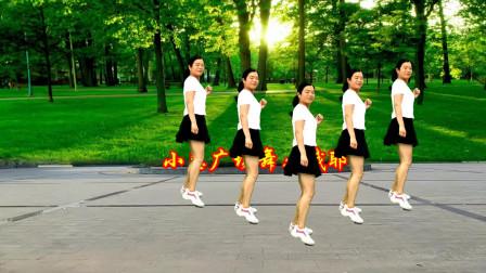 点击观看《小慧广场舞 时尚动感摇摆步子舞哦耶64步教学分解》