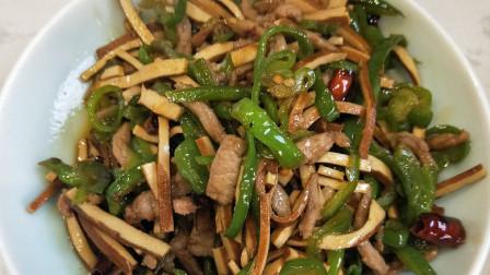 美食:懒人上班族必学的家常菜香干牛肉丝,吃了赞不绝口