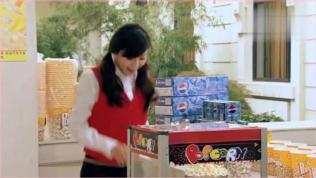 《爱情公寓》陈美嘉爆爆米花,一次性放了4公斤原料,机器当场暴走