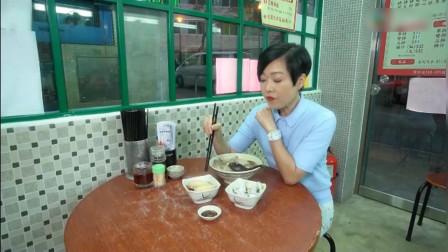 香港美食,猪杂粥,冰镇墨鱼头,醉鸡翅,美味