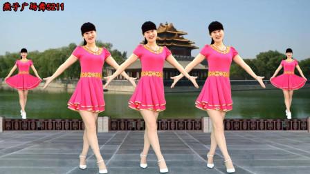 大众健身步子舞教学九九艳阳天 燕子广场舞教你跳