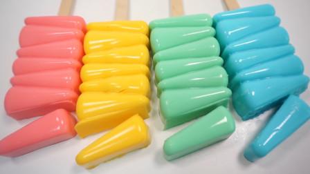 教你在家自制美味的牛奶果冻冰棍,做法简单材料易得,吃货最爱