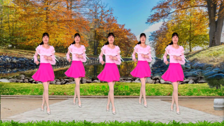 点击观看《河北青青广场舞视频大全 32步布尔津情歌教学分解》