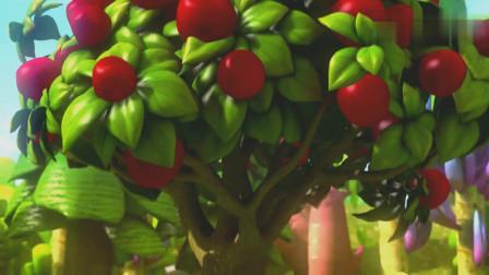 国产铁甲小宝:乐乐想要去偷苹果,没想到遇到了狂暴熊