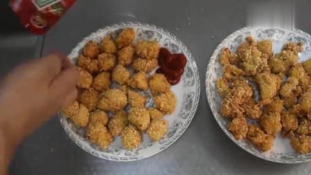 美食:鸡胸肉最过瘾的吃法,焦香酥脆,做法简单,刚端上桌就被抢光