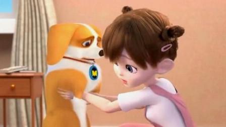 飞狗MOCO:小柯基偷吃食物被发现,接下来的这一幕,小柯基又惨了