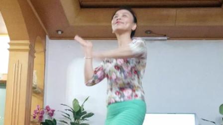 点击观看《简单无基础广场舞爱情的力量 中年妇女喜欢舞蹈视频》