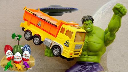 大力士綠巨人搬運大卡車救援行動