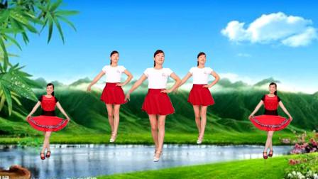 玫香广场舞《北江美》原创编舞32步,简单易学
