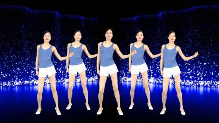 简单32步自由摆胯健身操游牧情歌 新生代广场舞
