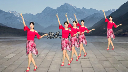 难得的民族风广场舞《尕苹果令》最火网红舞,看了一遍又一遍