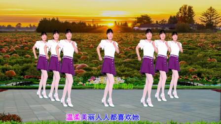 32步广场舞教学丫头 河北青青舞蹈教程分解