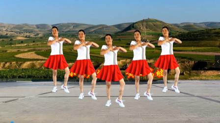 点击观看《零基础健身舞《黄土高坡》 小慧带你一起跳广场舞》