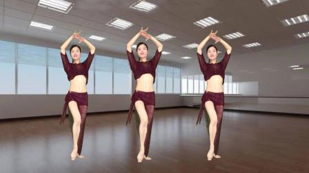 初级入门广场舞自多多情 新生代学跳粤语广场舞