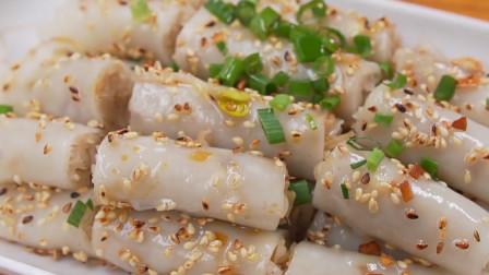 阳江人的特色美食——猪肠碌,咸中带香,简直完美