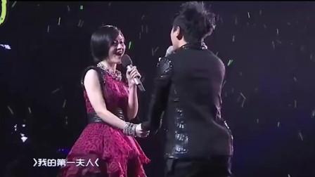 张杰实力宠妻,现场献唱情歌告白谢娜,用歌声诠释当下最美的爱情