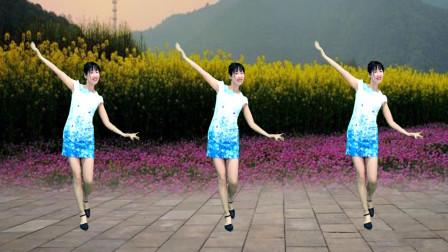 阿采简单无基础广场舞桃花朵朵开 舞蹈优雅好看
