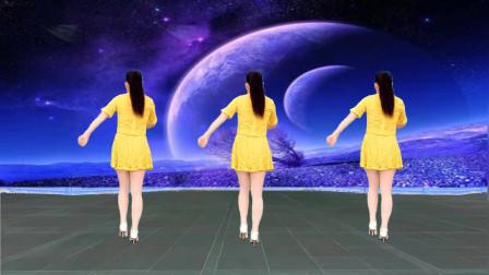 玫香32步广场舞你是我的人 附正背面教学分解