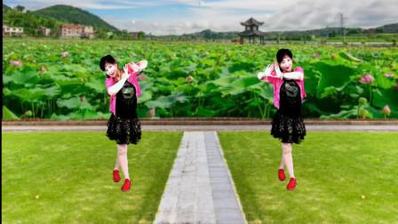 点击观看《吕芳广场舞教学视频 简单无基础健身舞心相印手牵手》