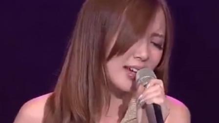19岁的汪小敏早年参加选秀演唱《千千阙歌》真是美的像小仙女!