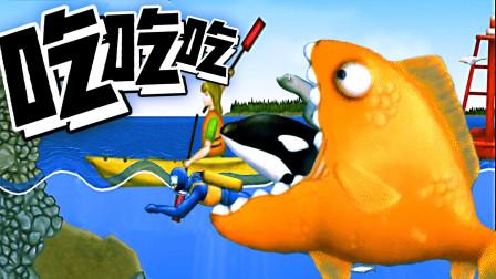 美味的金魚 一條金魚被放生后變成外來物種
