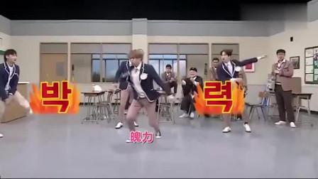 GOT7综艺再现刀群舞,jyp老板一脸骄傲,不愧是顶级男团