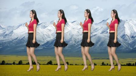 点击观看《好学健身步子舞雨花石 神农舞娘学会新舞》