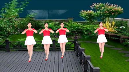 玫香广场舞《你的眼角流着我的泪》32步无基础广场舞教程分解