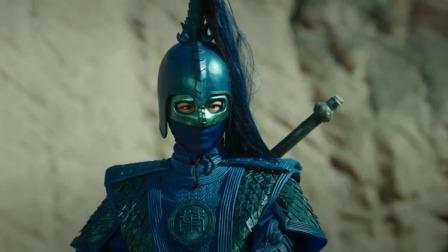 """""""活阎王""""杀敌的样子好帅啊,,不料摘下面具,这颜值我沦陷了!"""