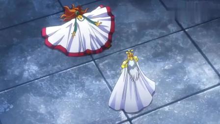 圣斗士星矢:撒加不仅夺了教皇之位,还想除掉雅典娜!