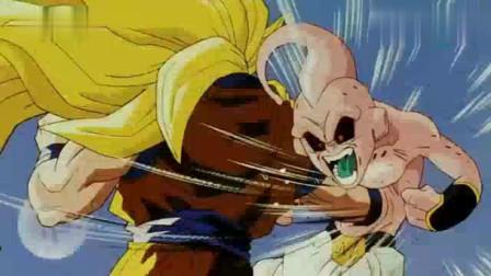 龙珠:超三状态的悟空太强了,一炮把布偶轰成渣