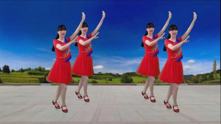经典老歌广场舞《碎心石》只为心儿圆 不为心儿碎,好听又好看!