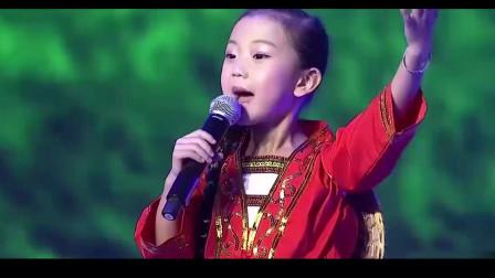 天!刘三姐终于后继有人了,6岁香港童星一首刘三姐山歌,美翻了