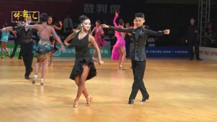 2019中国体育舞蹈国家少年Ⅱ队拉丁舞选拔赛第一轮--桑巴