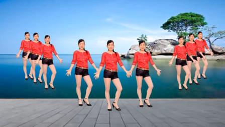 玫香广场舞《一壶老酒》步子舞视频含舞蹈教学