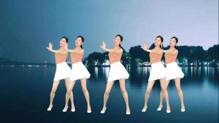 点击观看《简单步子舞视频 新生代64步广场舞望爱却步》