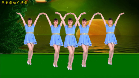 华美舞动步子舞教学视频 《错误的爱》简单时尚