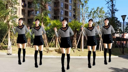 阿真广场舞视频 动感节奏美美哒